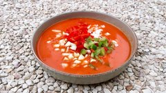 Тонизирующий суп гаспачо «Пламя и лёд»