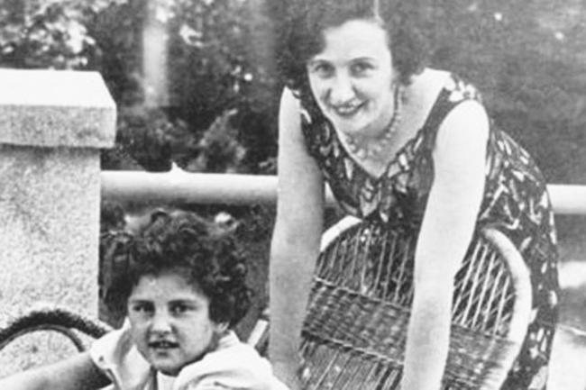 Евгения Хаютина с дочерью