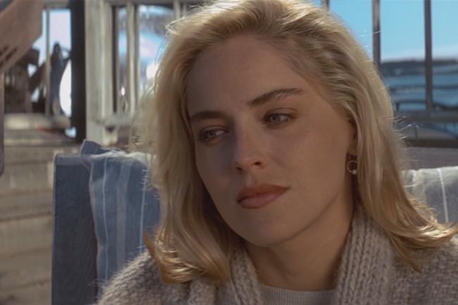 """Шерон Стоун """"Основной инстинкт"""" 1992"""