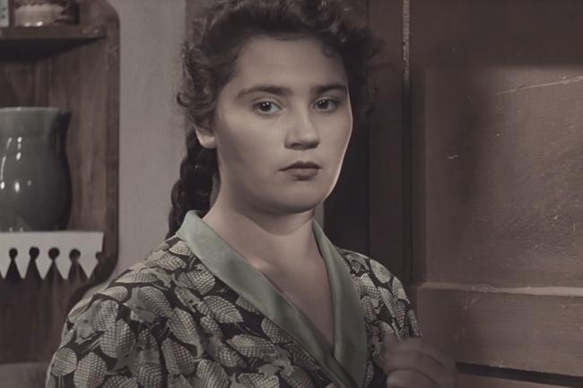 Валентина Пугачёва Фильм Весна на Заречной улице (цветная версия) 1956