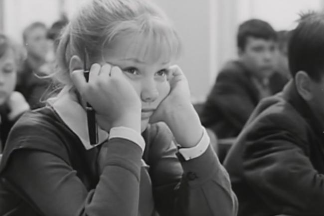 Елена Проклова «Звонят, откройте дверь» 1965