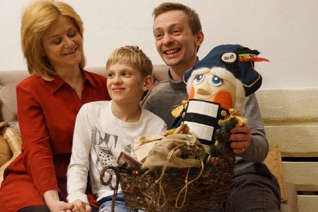 Евгений Кулаков и семья