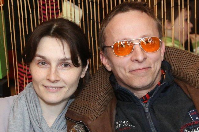Иван Охлобыстин и Оксана Арбузова