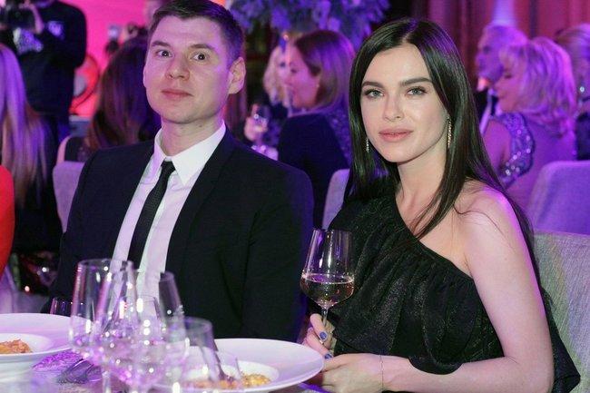 Елена Темникова с мужем Дмитрием