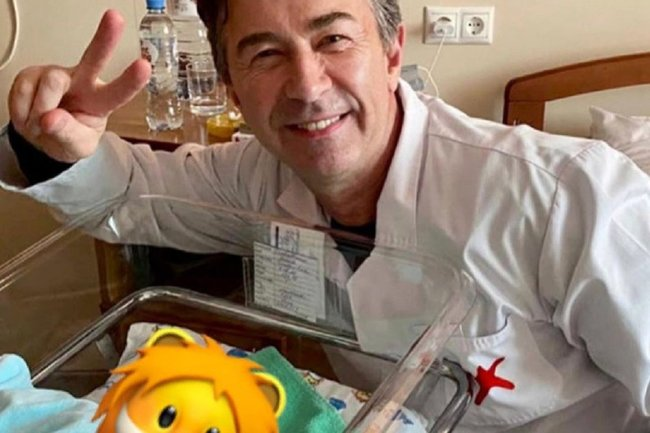 Валерий Сюткин стал отцом