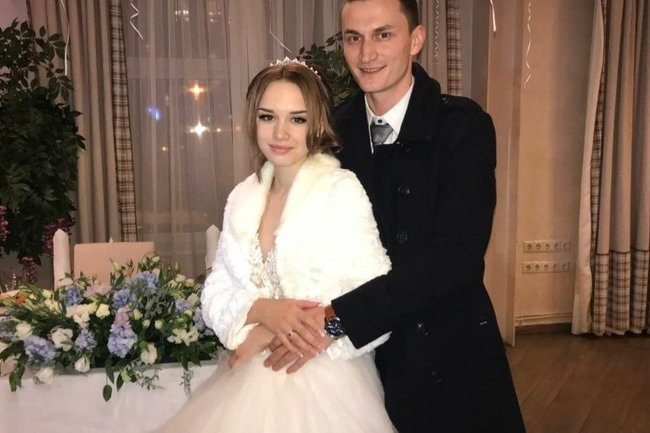 Диана Шурыгина с бывшим мужем