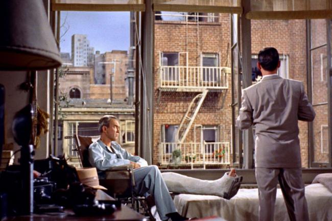 """""""Окно во двор"""" 1954 г."""