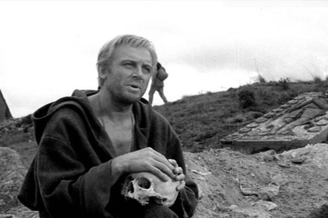 """Иннокентий Смоктуновский """"Гамлет"""" 1964"""