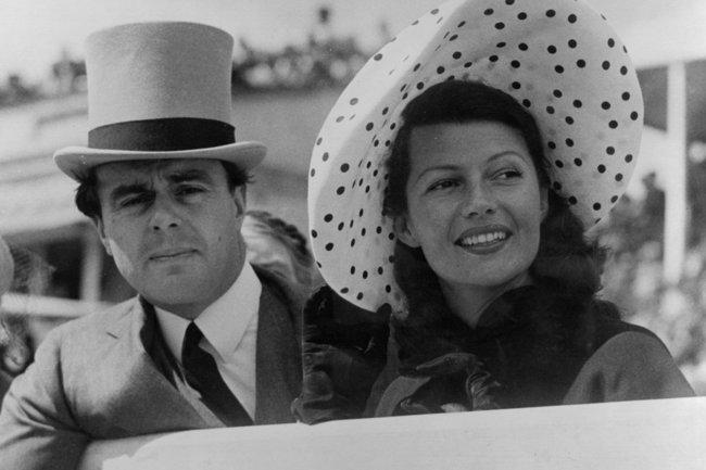 Рита Хейворт и принц Али Хан 1948 год