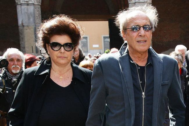 Клаудия Мори и Андриано Челентано
