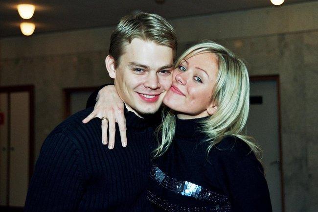 Юлия Началова и ее первый муж