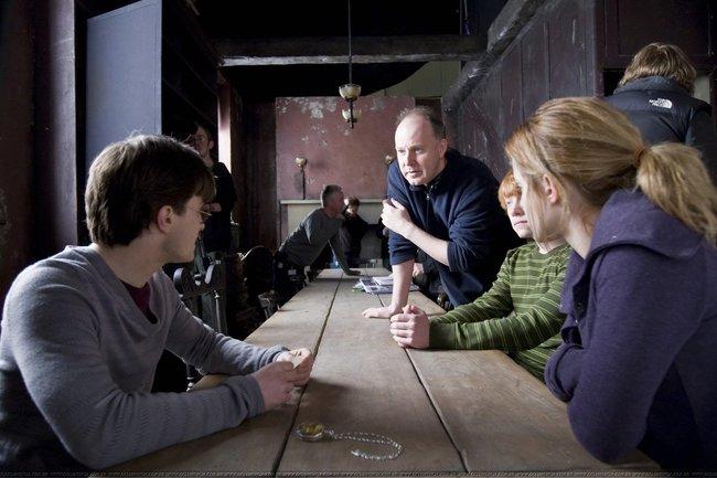Гарри Поттер фото со съемок